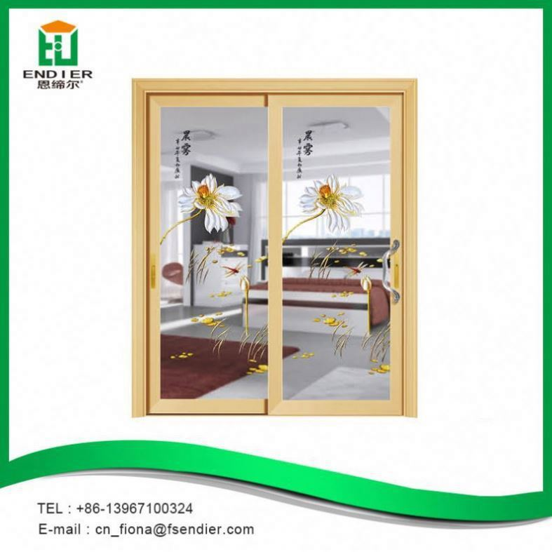 American Style aluminium internal glass sliding doors for balcony