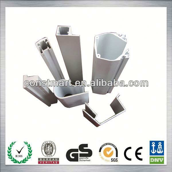 Extruded aluminum profiles insect screen