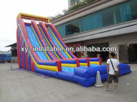 2013 hot selling giant inflatable water slide for adult
