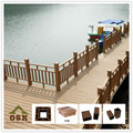 European style beatifulbalcony railings wpc zaun pergola flooring and fence