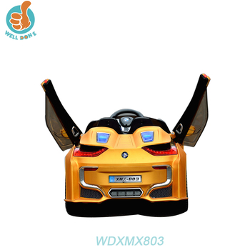 WDXMX803 Hot New Model 12V Electric Children Baby Plastic Cars/My Lovely Toy