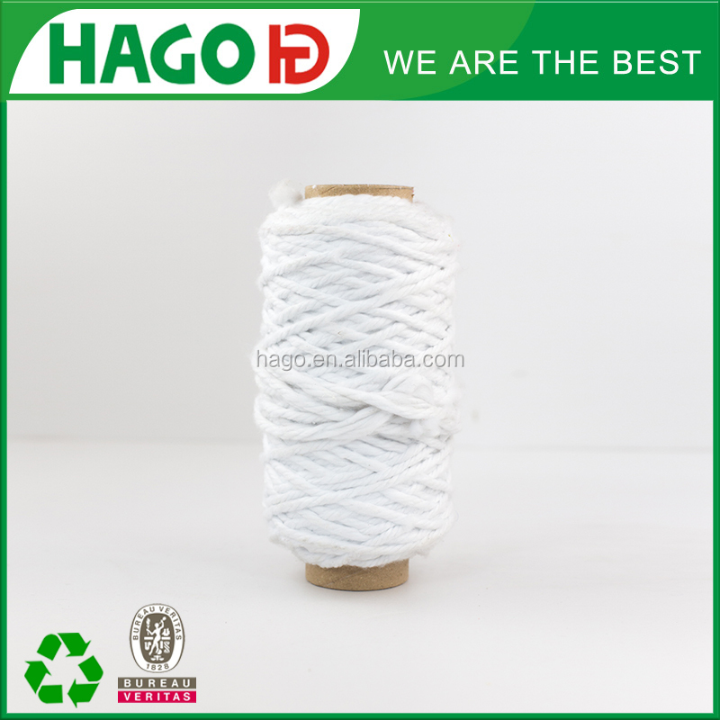 Factory price PLY 4 NE0.5-NE6 recycled blended 100% cotton and polyester cleaning mop yarn exported to Sri Lanka