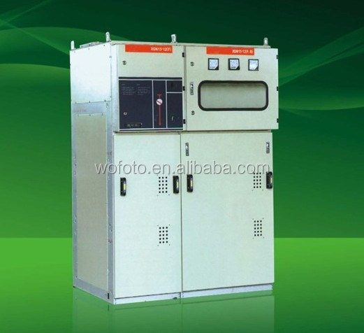 XGN15-12 SF6 Metal-Clad Enclosed Ring Main Unit AIS RMU 12KV Air Insulated Switchgear Medium Voltage ring main unit