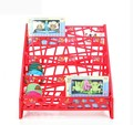 Ergonomic design eco-friendly detachable preschool kindergarden plastic bookshelf