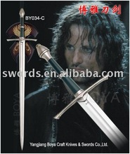 the lord of the ring sword Cosplay tools Medieval swordBY034-C