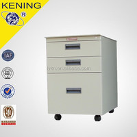 Hanging folder storage steel 3 drawer file cabinet