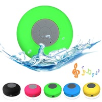 Subwoofer Shower Waterproof Wireless Bluetooth Speaker Car Handsfree Receive Call Music Suction Phone Mic For iPhone