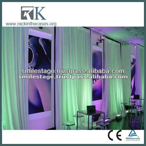 RK tiffany blue curtain fabric