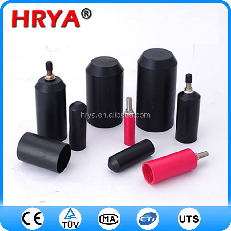 weather uv proof heat shrink end cap heat shrink end caps/ cable accessories
