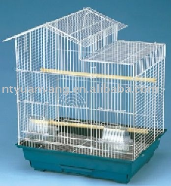 antique round metal bird pet breeding garden cage