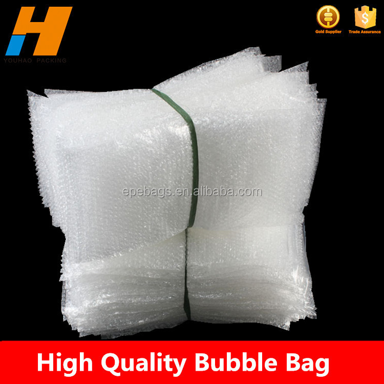 Bubble Paper Wrap Bag, Plastic Film Cushioning Bag, Air Filled Pouch