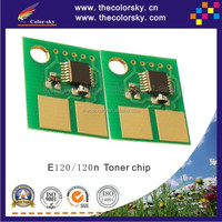 (CS-LE120) compatible reset laser printer toner chip for Lexmark E120 E120n E 120 120n 120XXSX BK 2K