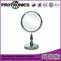 JM939 LED lighting mirror table mirror standing mirror double side magnifying