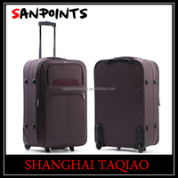 Strong plastic customized luggage case
