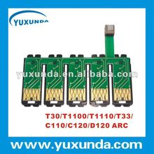Stable auto reset chip for Epson T33/T30( T73N series)