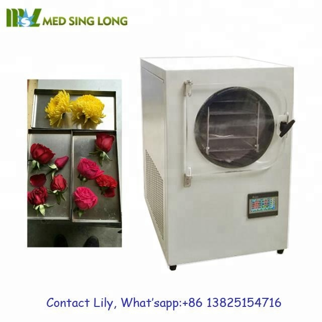 Home Use Vacuum Freeze Dryer Lyophilizer for Food and Fruits, High Quality Food Freeze Dryer