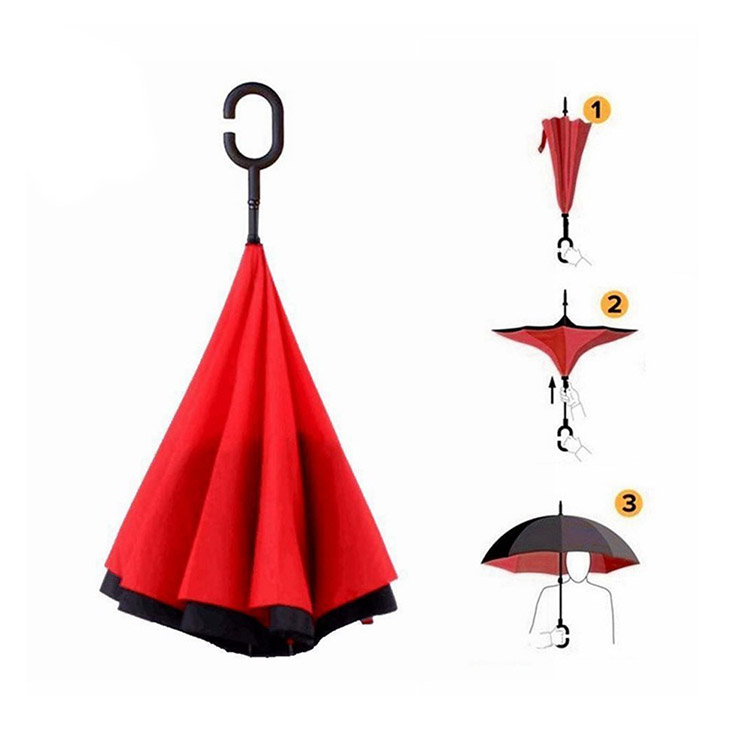 Promotional Wholesale Cheap Inverted Umbrellas
