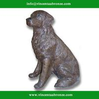 Alibaba Uae little girl and dog sculpture for garden decoration