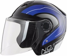 New design motorcycle casco open face helmet with custom decal
