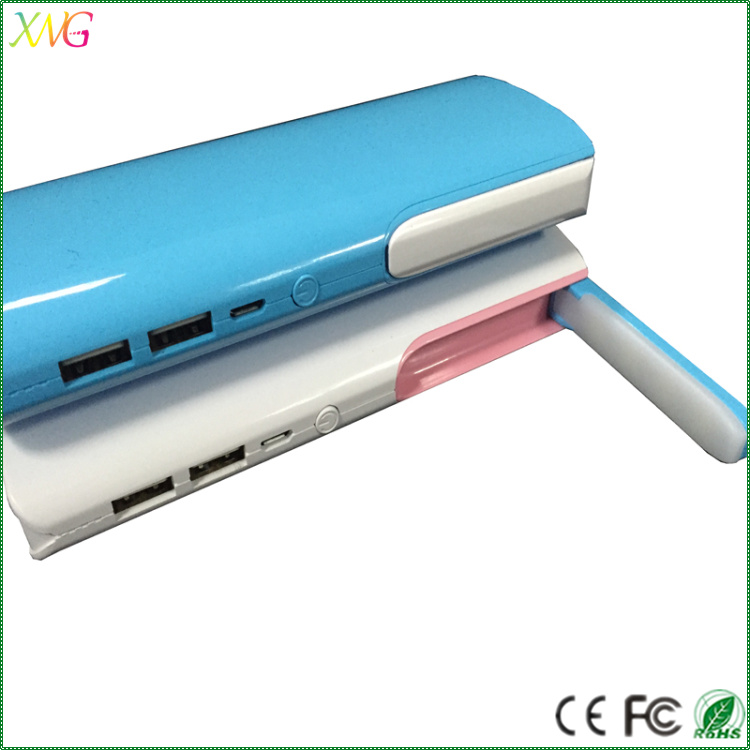 2016 hot sale low price 13000mah lamp light super capacitor power bank
