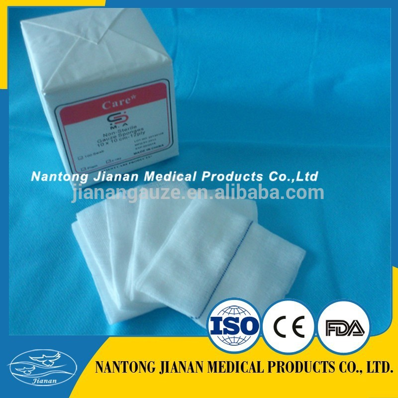 surgical swab 7.5 x 7.5cm gauze With Good Service