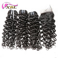 Wholesale hot sale brazilian virgin hair extension human hair weave jerry curl