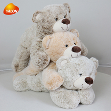 Cute big eyes plush teddy bear toy