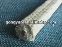 BRAIDED GLAND PACKING Fiber glass packing with PTFE