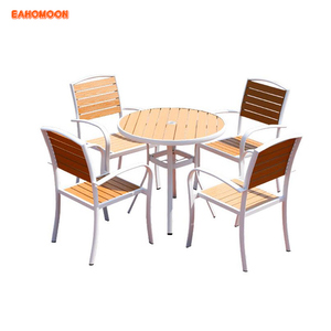 Newest Backyard Durable Patio Furniture Outdoor Table And Chair Set Polywood