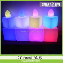 High quality led home bar cabinet/led plastic tables and chairs in China/led furniture