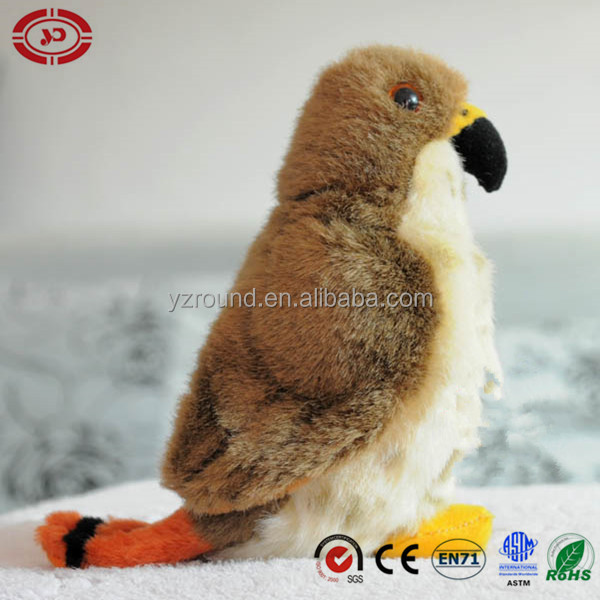 The U.S.A red tail tiny adorable soft toy plush bird