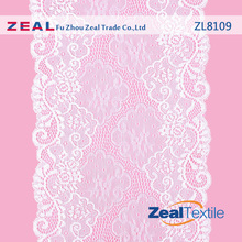 Fashion Spandex Velvet Lace Fabric For Young Ladies