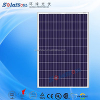 polycrystalline silicon solar cell price 195w solar panel battery china supplier