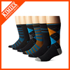 Wholesale sport daily men jacquard cotton custom socks