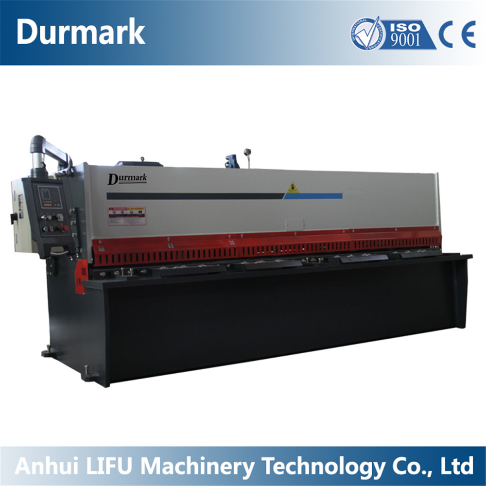 Durmark CNC Hydraulic plate swing beam shearing machine for meatl QC12Y - 8*3200mm