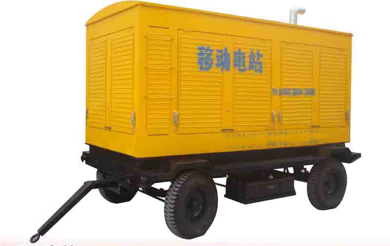 1000kw water cooled diesel power generator,silent trailer generator,mobile generator for construction machinery