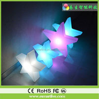 Plastic light up stick, light pine, glow magic furniture