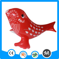 Hot Sale 50cm long Red Inflatable Fish,Promotional Newest Inflatable Fish Toy,Promotion Inflatable Fish Toy