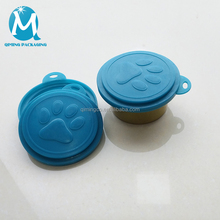 Trade Assurance Plastic Portable 2 In 1 Pet Food Tin Lid