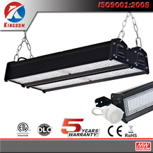 2017 new Dlc Linear 200W Led Flat High Bay,24000lm led high bay light 200 watt