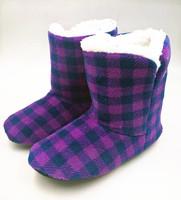 wholesale women winter flannel fleece anti-slip indoor shoes home shoes