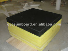 insulated fiberglass sandwich wall panel as decorative material/soundproof and fiberglass fabirc acoustic panel