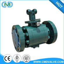3 Inch China Carbon Steel Metal Seat Oil and gas flange A105N Ball valve