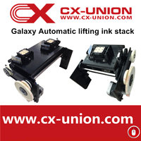 Automatic lifting ink stack original galaxy printer spare part for dx5 heads