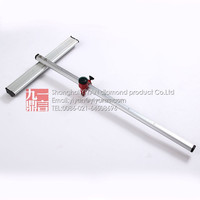 180mm glass cutter tungsten carbide manual tile cutter speed t shape glass t cutter