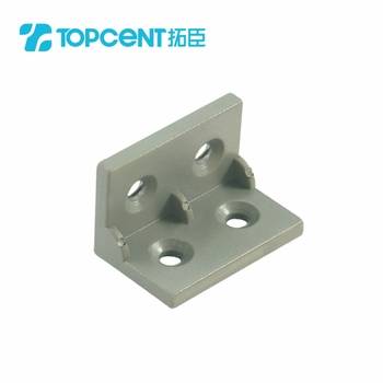 Plastic angle bracket metal corner shelf furniture bracket