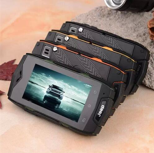 JEEP V10 2.4 inch MINI Smart Phone Android 4.3 MTK6572 cell phones Dustproof Shockproof 2 SIM WIFI 3G MOBILE