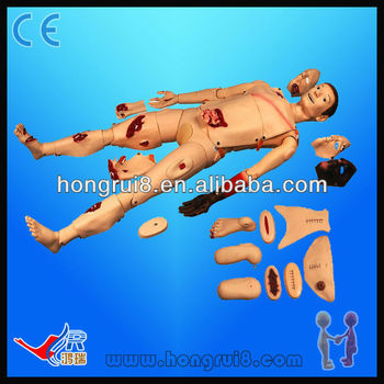 HR/H111 ISO Advanced medical nursing trauma manikin