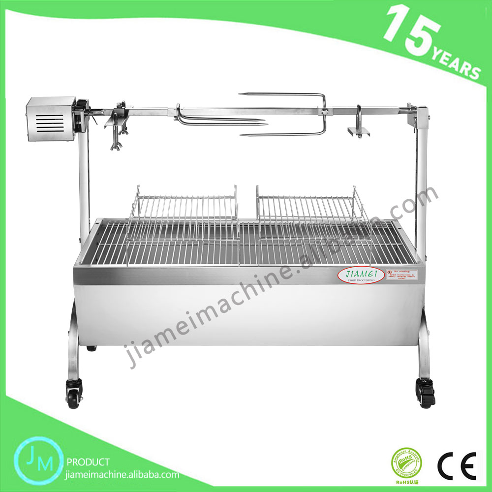 China manufacturer big direct igniter bbq spit rotisserie for lamb
