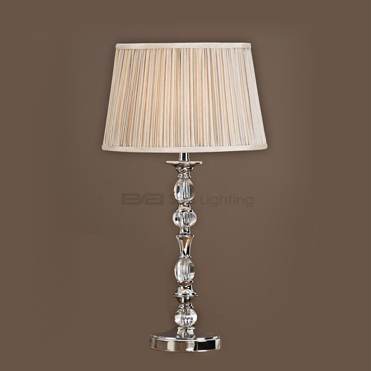 Senior decoration family room table light metals LED crystal table lamp 5101072